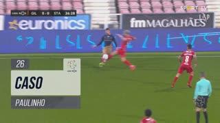 Gil Vicente FC, Caso, Paulinho aos 26'