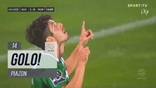 GOLO! Rio Ave FC, Piazon aos 14', Rio Ave FC 1-0 Moreirense FC