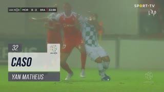 Moreirense FC, Caso, Yan Matheus aos 32'