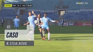 SC Farense, Caso, N. Stojiljkovic aos 65'