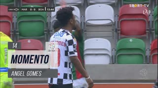 Boavista FC, Jogada, Angel Gomes aos 14'
