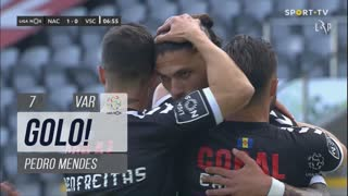 GOLO! CD Nacional, Pedro Mendes aos 7', CD Nacional 1-0 Vitória SC