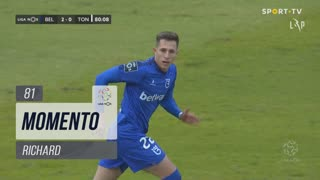 Belenenses SAD, Jogada, Richard aos 81'