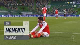 SC Braga, Jogada, Paulinho aos 86'