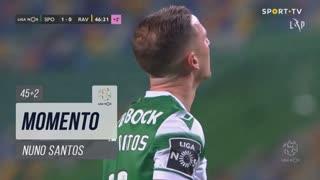 Sporting CP, Jogada, Nuno Santos aos 45'+2'