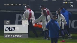 FC Famalicão, Caso, Rúben Vinagre aos 33'