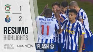 Liga NOS (20ªJ): Resumo Flash Marítimo M. 1-2 FC Porto