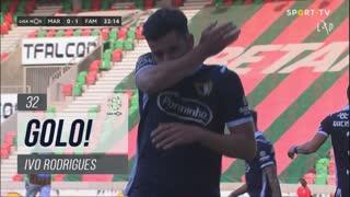 GOLO! FC Famalicão, Ivo Rodrigues aos 32', Marítimo M. 0-1 FC Famalicão