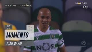 Sporting CP, Jogada, João Mário aos 82'