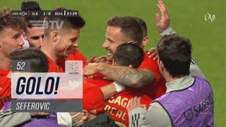 GOLO! SL Benfica, Seferovic aos 52', SL Benfica 2-0 Boavista FC