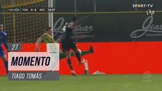 Sporting CP, Jogada, Tiago Tomás aos 27'