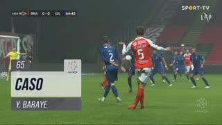 Gil Vicente FC, Caso, Y. Baraye aos 65'