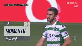 Sporting CP, Jogada, Paulinho aos 12'