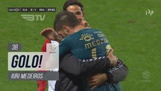 GOLO! SC Braga, Iuri Medeiros aos 38', SL Benfica 0-1 SC Braga