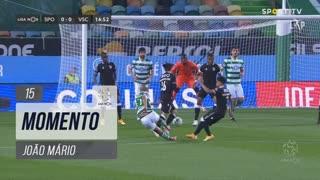 Sporting CP, Jogada, João Mário aos 15'
