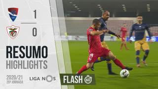 I Liga (20ªJ): Resumo Flash Gil Vicente FC 1-0 Santa Clara