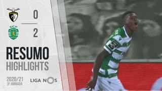I Liga (3ªJ): Resumo Portimonense 0-2 Sporting CP