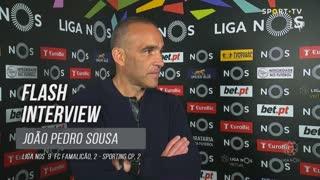 João Pedro Sousa apelou ao