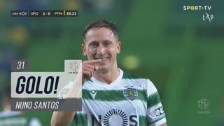 GOLO! Sporting CP, Nuno Santos aos 31', Sporting CP 2-0 Portimonense