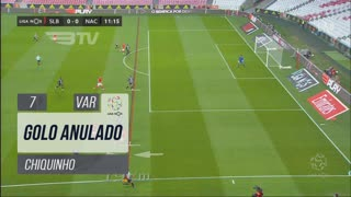 SL Benfica, Golo Anulado, Chiquinho aos 7'