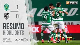 Liga NOS (24ªJ): Resumo Sporting CP 1-0 Vitória SC