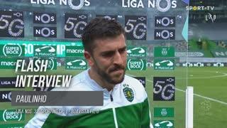 Rúben Amorim para Paulinho: