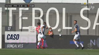 Gil Vicente FC, Caso, Gonçalves aos 12'
