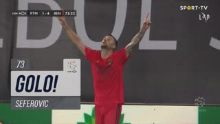GOLO! SL Benfica, Seferovic aos 73', Portimonense 1-4 SL Benfica