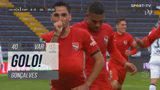 GOLO! Gil Vicente FC, Gonçalves aos 40', FC Famalicão 0-1 Gil Vicente FC