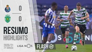 I Liga (21ªJ): Resumo Flash FC Porto 0-0 Sporting CP