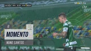 Sporting CP, Jogada, Nuno Santos aos 6'