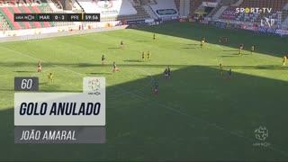 FC P.Ferreira, Golo Anulado, João Amaral aos 60'