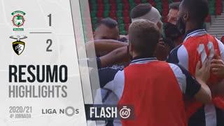 Liga NOS (4ªJ): Resumo Flash Marítimo M. 1-2 Portimonense