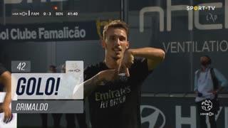 GOLO! SL Benfica, Grimaldo aos 42', FC Famalicão 0-3 SL Benfica