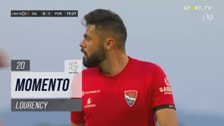 Gil Vicente FC, Jogada, Lourency aos 20'