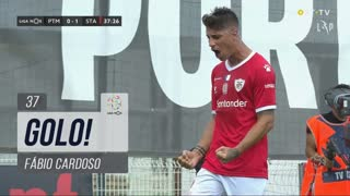 GOLO! Santa Clara, Fábio Cardoso aos 37', Portimonense 0-1 Santa Clara
