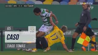 Sporting CP, Caso, Tiago Tomás aos 65'