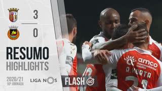 Liga NOS (10ªJ): Resumo Flash SC Braga 3-0 Rio Ave FC