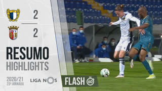 Liga NOS (23ªJ): Resumo Flash FC Famalicão 2-2 SC Braga