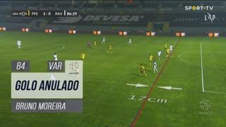 Rio Ave FC, Golo Anulado, Bruno Moreira aos 84'