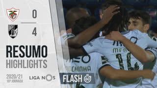 Liga NOS (10ªJ): Resumo Flash Santa Clara 0-4 Vitória SC