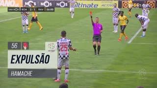 Boavista FC, Expulsão, Hamache aos 56'