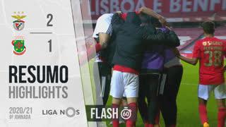 Liga NOS (9ªJ): Resumo Flash SL Benfica 2-1 FC P.Ferreira