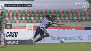 Boavista FC, Caso, Yusupha aos 36'