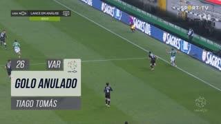 Sporting CP, Golo Anulado, Tiago Tomás aos 26'