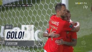 GOLO! SL Benfica, Everton aos 90'+1', Vitória SC 1-3 SL Benfica
