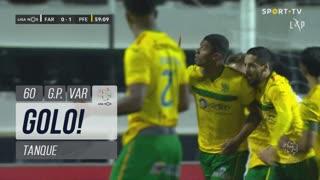 GOLO! FC P.Ferreira, Tanque aos 60', SC Farense 0-1 FC P.Ferreira