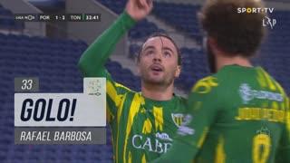 GOLO! CD Tondela, Rafael Barbosa aos 33', FC Porto 1-2 CD Tondela