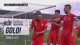 GOLO! Gil Vicente FC, Gonçalves aos 29', Gil Vicente FC 1-1 SC Braga