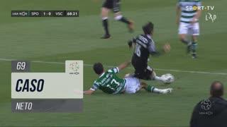 Sporting CP, Caso, Neto aos 69'